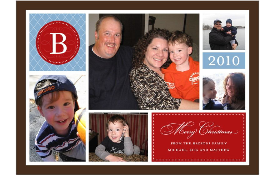 Merry Christmas 2010 from the Bazzoni Family!